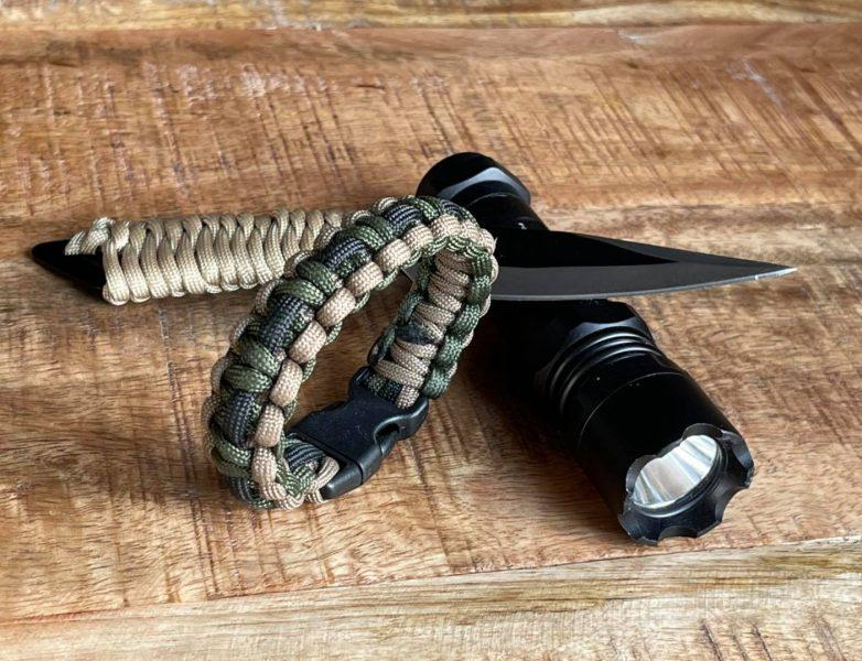 Paracorde bracelet de survie