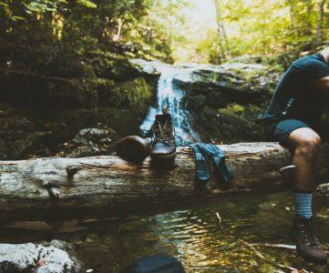 nettoyer entretenir chaussures de randonnée