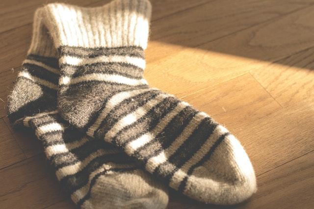 image illustrant des chaussettes des randonnée