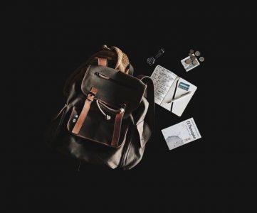 image d'un sac à dos à organiser